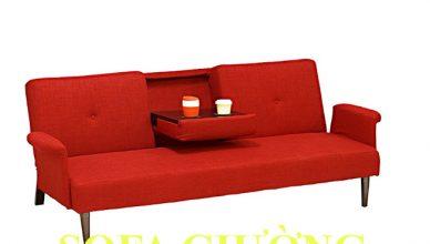sofa giường đỏ 021