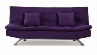 sofa giường tím 019