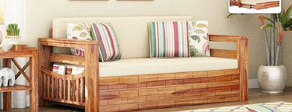 ghế sofa bed bằng gỗ