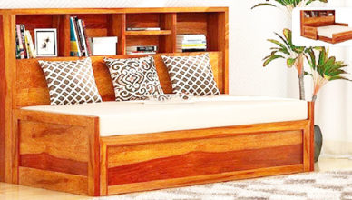 sofa bed bằng gỗ